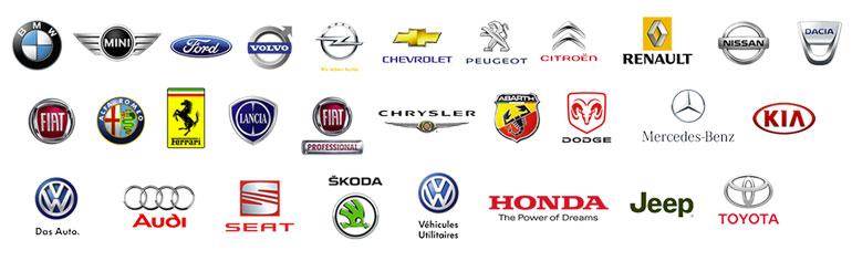 carte gps par constructeur automobile