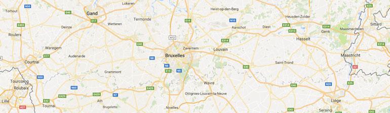 carte gps randonnée Belgique