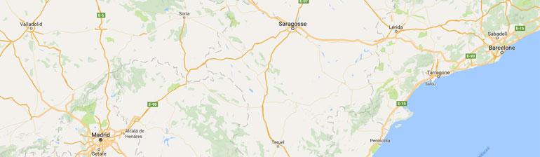 carte gps randonnée Espagne