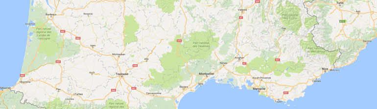 carte gps randonnée France