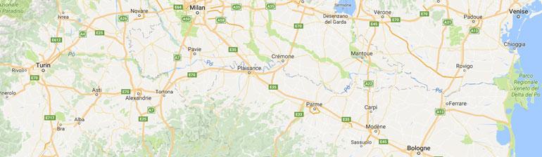 carte gps randonnée Italie