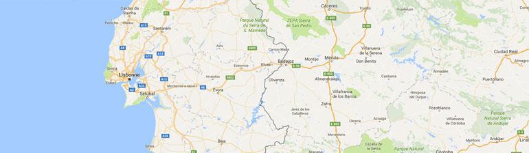 carte gps randonnée Portugal