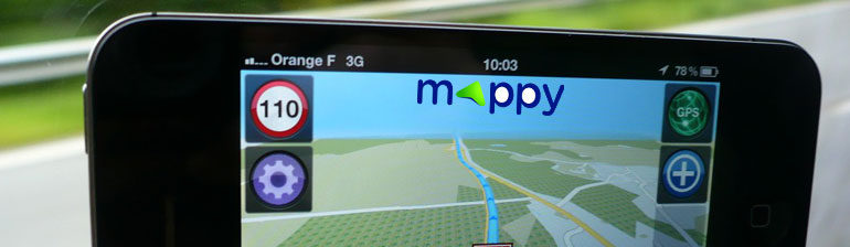 mappy gps pour iphone