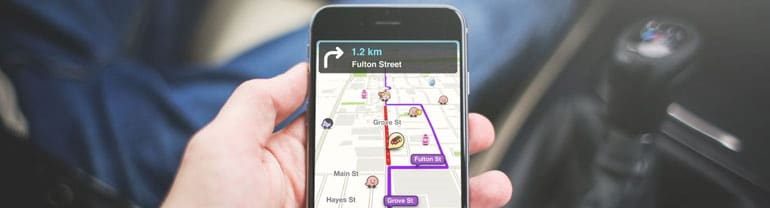 waze avec radar iphone