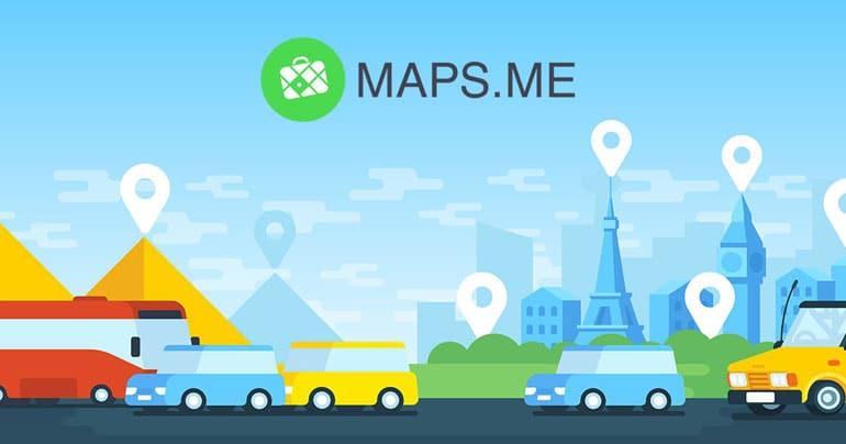 Maps.Me GPs gratuit basé sur OpenStreetMap