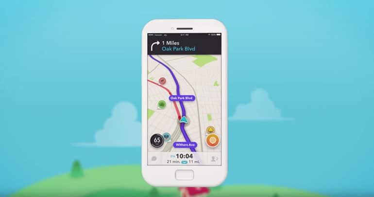 Waze GPS gratuit, la communauté fait la différence